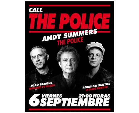 Promomusica Andy Summers The Police