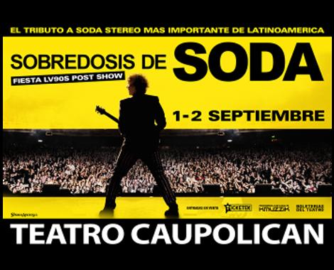 Promomusica SODA STEREO CHILE